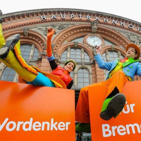 Vordenker für Bremen; ArcelorMittal Bremen; Promotion; Ideenwettbewerb; Pommerel