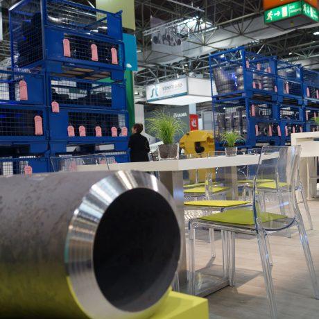 TUBE; Düsseldorf; Starofit; Pommerel; Modernes Messedesign; Messestand