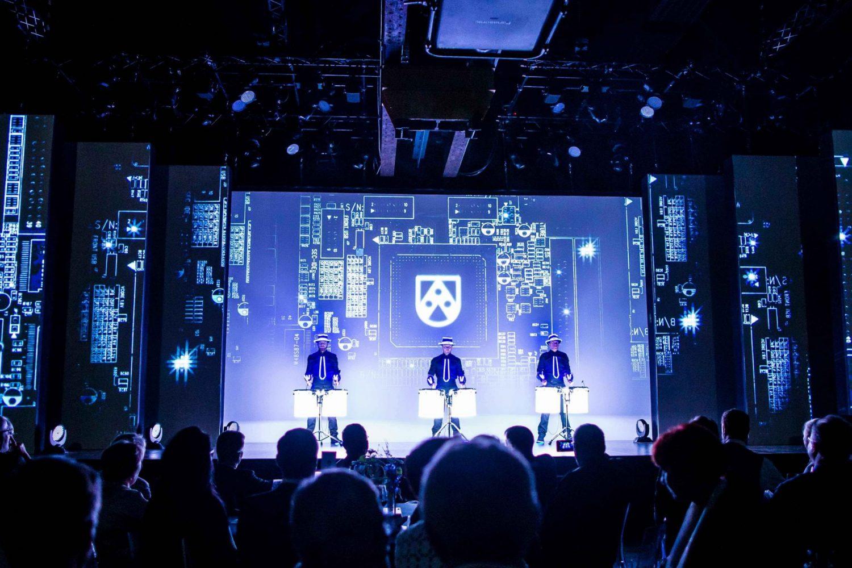 Multimediale Bühnenshow